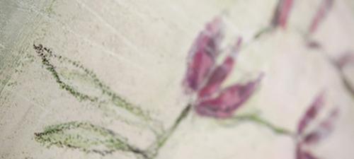 Langenberg Andrea Kunst Blume Detail